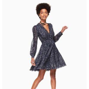 Kate Spade Night Sky Silk Dress, Size 4